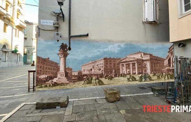 La Trieste del passato sui muri di oggi, sul web nasce l'idea per abbellire Cavana