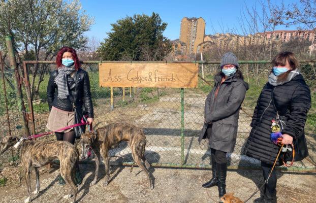 Borgo San Sergio, inaugurata la nuova area di sgambamento cani